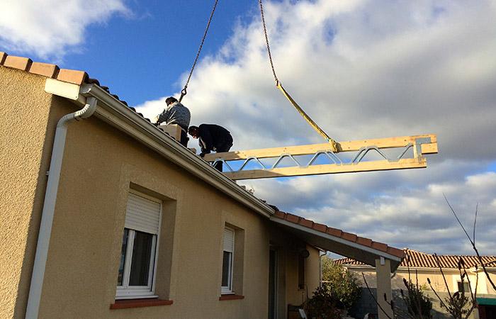 03-surelevation-maison-merville-poutres3 in Actualité EBS Bâtiment et Surélévation sur Toulouse et Midi-Pyrénées.