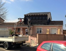 Surélévation d'une maison à Tournefeuille (31)