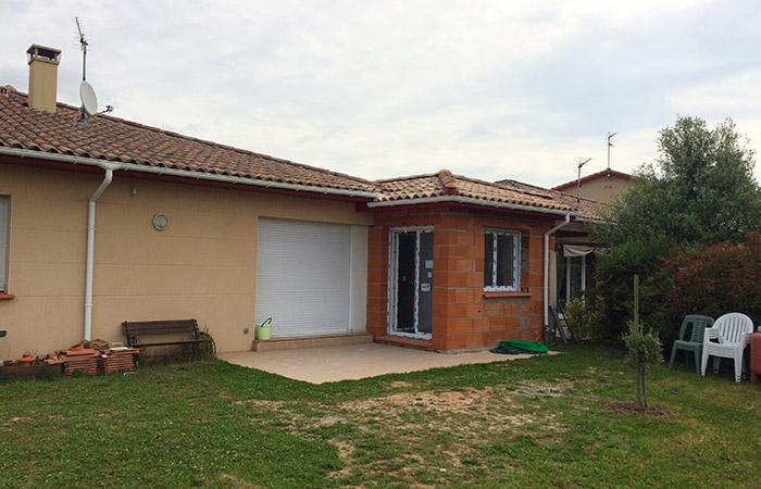 Extension D'une Maison à Colomiers (31) + Création Piscine 8 X 4m