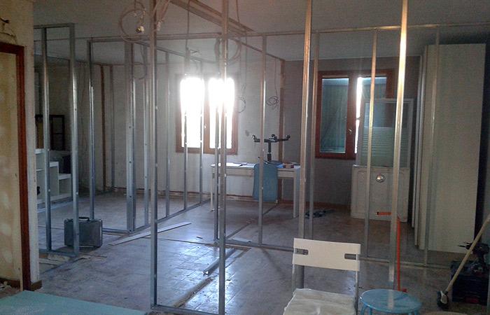 05-renovation-maison-toulouse-placo in Rénovation intérieure + Création garage + Terrasse - Maison à St-Orens (31)