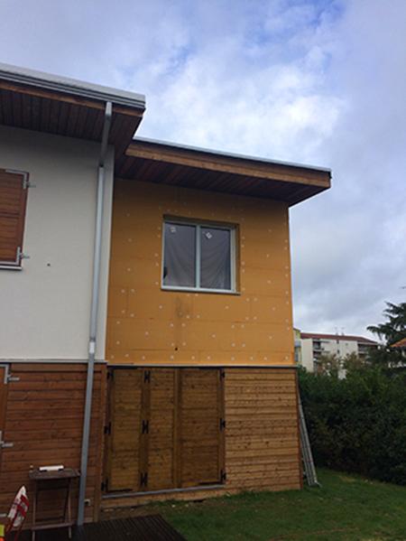 09-extension-maison-toulouse-isolation-ext in Extension dune maison à Toulouse - Saint-Simon (31)