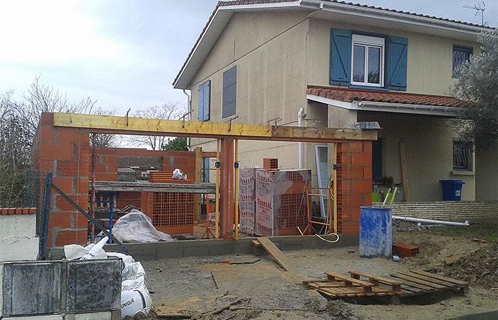 12-renovation-construction-garage-saint-orens in Rénovation intérieure + Création garage + Terrasse - Maison à St-Orens (31)