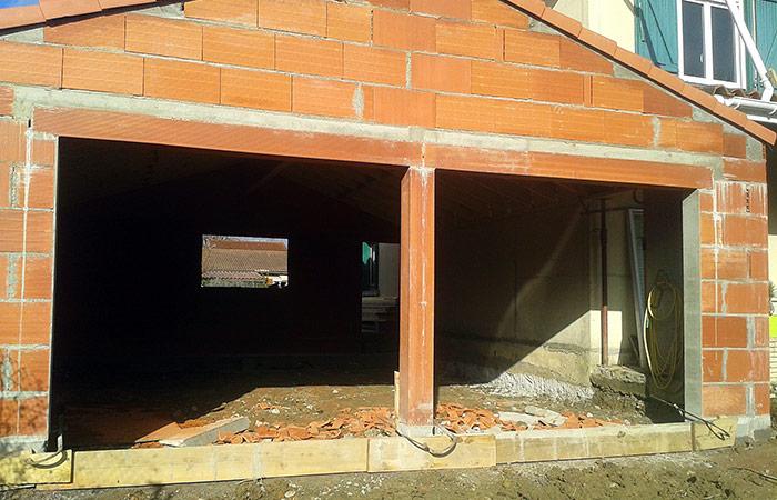 16-renovation-construction-garage-murs in Rénovation intérieure + Création garage + Terrasse - Maison à St-Orens (31)