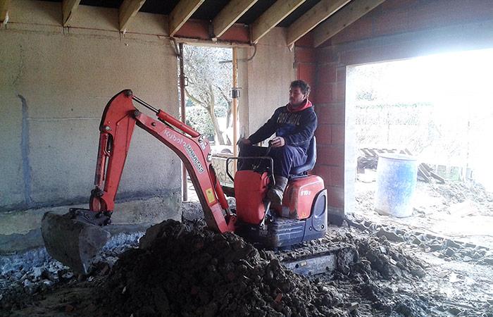 17-renovation-construction-garage-terrassement in Rénovation intérieure + Création garage + Terrasse - Maison à St-Orens (31)