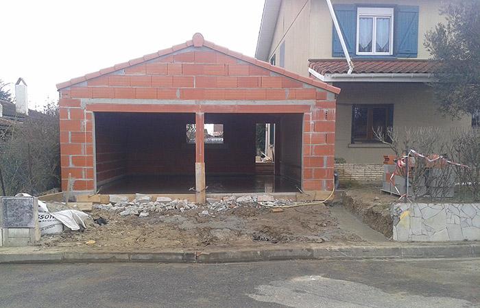 19-renovation-construction-garage in Rénovation intérieure + Création garage + Terrasse - Maison à St-Orens (31)