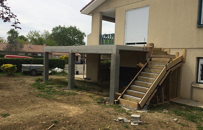 22-renovation-construction-terrasse in Rénovation intérieure + Création garage + Terrasse - Maison à St-Orens (31)