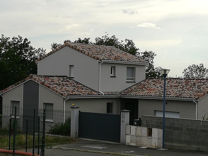 Surélévation D'une Maison à L'Isle-Jourdain (32)