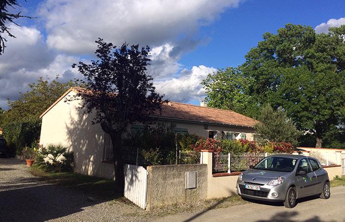01-surelevation-maison-launaguet-avant-travaux in Surélévation dune maison à Launaguet (31)