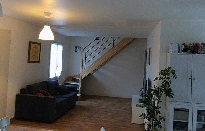 03-surelevation-maison-launaguet-escalier in Surélévation dune maison à Launaguet (31)