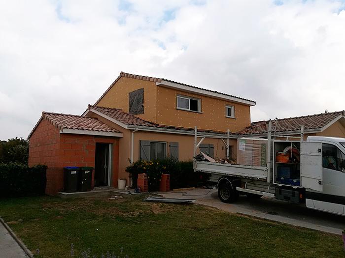 02-surelevation-maison-toulouse-aussonne in Surélévation et extension au sol dune maison à Aussonne (31)