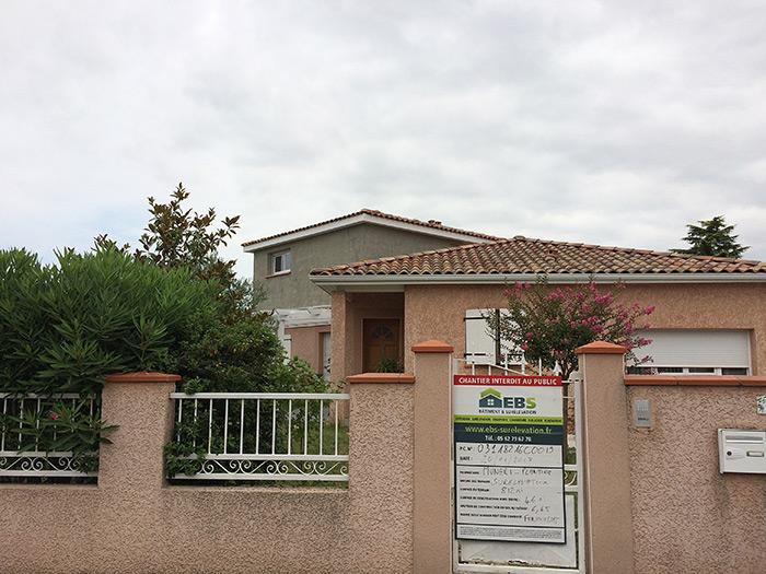 02-surelevation-maison-toulouse-fenouillet in Surélévation dune maison à Fenouillet (31)