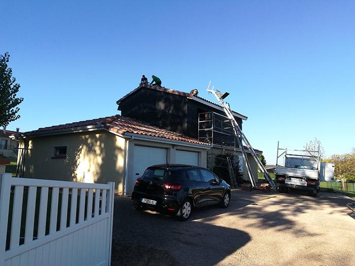 02-surelevation-maison-vacquiers-31 in Surélévation dune maison à Vacquiers (31)