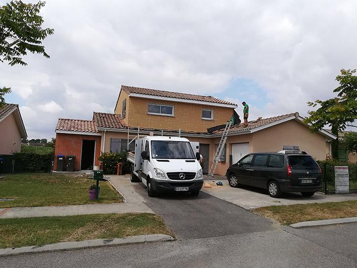 03-surelevation-maison-toulouse-aussonne in Surélévation et extension au sol dune maison à Aussonne (31)