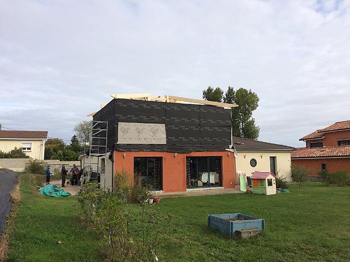 03-surelevation-maison-toulouse-aussonne2 in Surélévation dune maison à Aussonne (31)