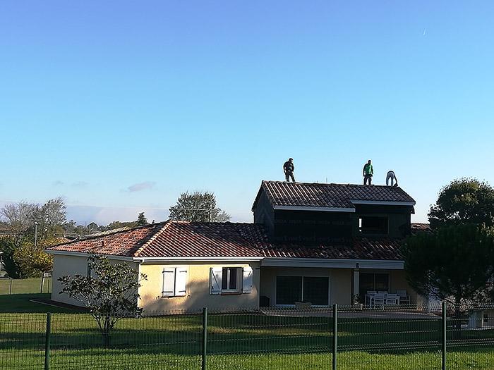 04-surelevation-maison-vacquiers-31 in Surélévation dune maison à Vacquiers (31)