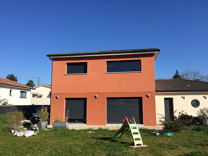 05-surelevation-maison-toulouse-aussonne2 in Surélévation dune maison à Aussonne (31)