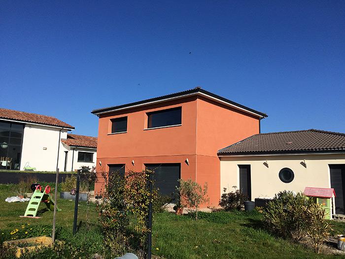 07-surelevation-maison-toulouse-aussonne2 in Surélévation dune maison à Aussonne (31)
