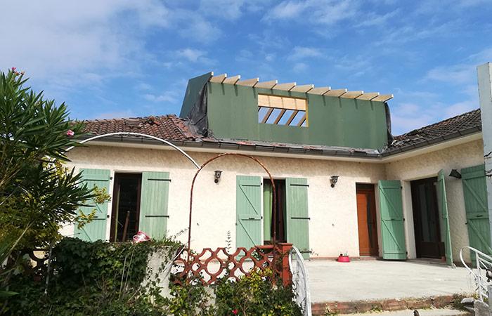 03-Surelevation-maison-aussonne-60m2 in Surélévation dune maison à Aussonne (31)