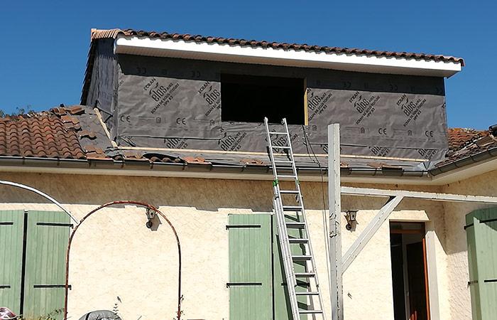 04-Surelevation-maison-aussonne-60m2 in Surélévation dune maison à Aussonne (31)