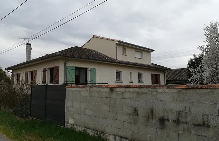 06-Surelevation-maison-aussonne-60m2 in Surélévation dune maison à Aussonne (31)