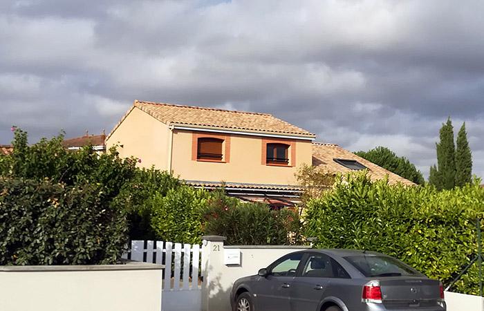 Surelevation-Aussonne-maison-01 in Construction, surélévation, extension et rénovation de maison bois ou briques à Toulouse (31)